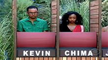 Big Brother 11 Kevin and Chima
