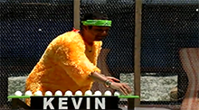 Big Brother 11 Kevin Campbell wins the Power of Veto