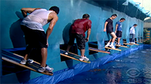 Big Brother 12 Hang 10 HoH Competition