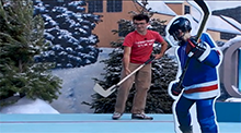 Big Brother 14 HoH Competition - On Thin Ice - Ian Terry