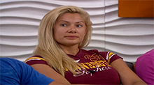 Big Brother 14 - Janelle Pierzina evicted