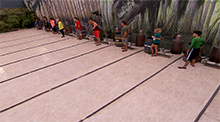 Big Brother 14 HoH Competition - Swamped