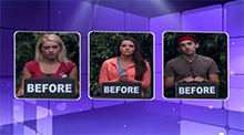 Big Brother 14 HoH Competition - Before or After