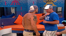 Big Brother 14 - Willie Hantz expelled headbutt