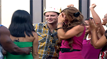 Big Brother 15 - Judd Daugherty wins HoH