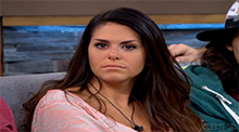 Big Brother 15 - Amanda Zuckerman nominated by America