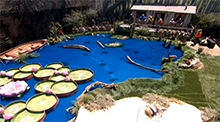 Big Brother 15 Veto Competition - Frog Darts