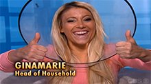 Big Brother 15 - GinaMarie Zimmerman - Cone of Shame