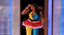 Big Brother 15 - Candice Stewart evicted