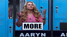 Big Brother 15 - Aaryn Gries wins HoH