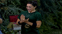Big Brother 15 - Elissa Reilly wins the Power of Veto - OTEV