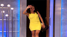 Big Brother 15 - Helen Kim evicted