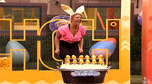 Big Brother 15 - GinaMarie Zimmerman wins HoH