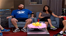 Big Brother 15 - Amanda Zuckerman evicted