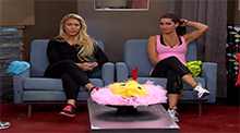 Big Brother 15 - GinaMarie and Elissa