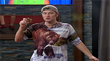 Big Brother 15 - Judd's bear shirt