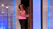 Big Brother 15 - Elissa Reilly evicted