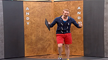 Big Brother 15 - Andy Herren wins HoH