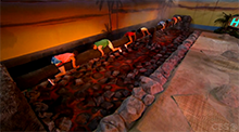 Big Brother 16 HoH Competition - Over The Coals