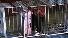 Steel Cage Match HoH Competition Big Brother 4