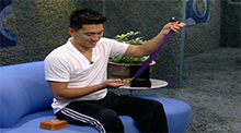 Jee Choe wins the Power of Veto Big Brother 4