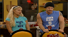 Big Brother All Stars - Janelle and Jase HoH