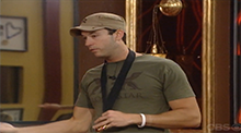 Big Brother All Stars - James uses the Power of Veto