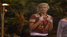 Big Brother OTEV - Janelle wins the Power of Veto