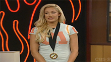 Big Brother All Stars - Janelle uses the Power of Veto