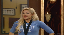 Big Brother All Stars - Janelle with the Power of Veto