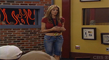 Big Brother All Stars - Erika with the veto