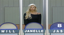 Big Brother All Stars - HoH Competition - Janelle