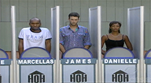 Big Brother All Stars - HoH Competition - Marcellas, James and Danielle