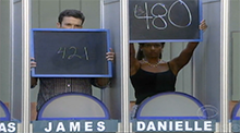 Big Brother All Stars - HoH Competition - James and Danielle
