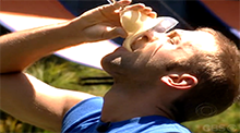 Big Brother 8 - Shot for Shot veto competition - Dustin