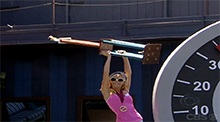 Big Brother 8 - Dani wins the Power of Veto