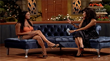 Big Brother 8 - Jen with Julie Chen