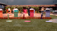 Big Brother 8 - Zach wins HoH