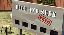 Big Brother 8 - Veto Competition - Hide and Seek