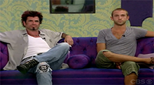 Big Brother 8 - Dustin evicted
