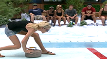 Big Brother 8 - Veto Competition - Cutthroat Christmas - Daniele Donato wins
