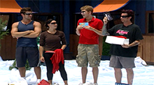 Big Brother 8 - Veto Competition - Cutthroat Christmas