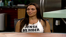 Big Brother 8 - Jen Johnson nominated