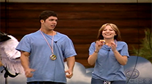 Matt and Natalie win the Power of Veto - Big Brother 9