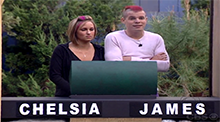 James and Chelsia Big Brother 9