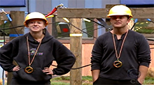 Joshuah and Sharon win the Power of Veto Big Brother 9